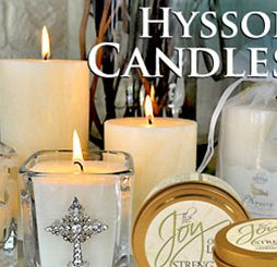 Hyssop Candles